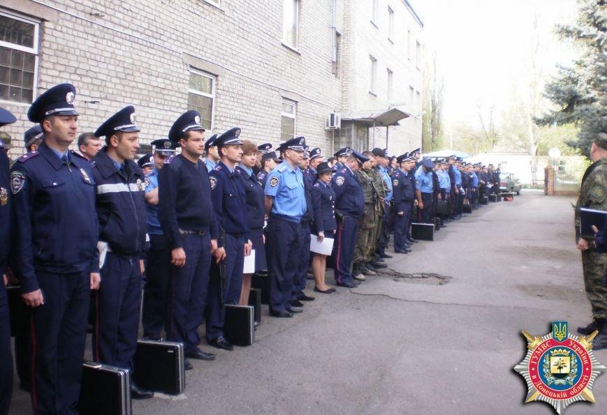 Милиция Артемовска тренировалась держать оборону здания горотдела, фото-4