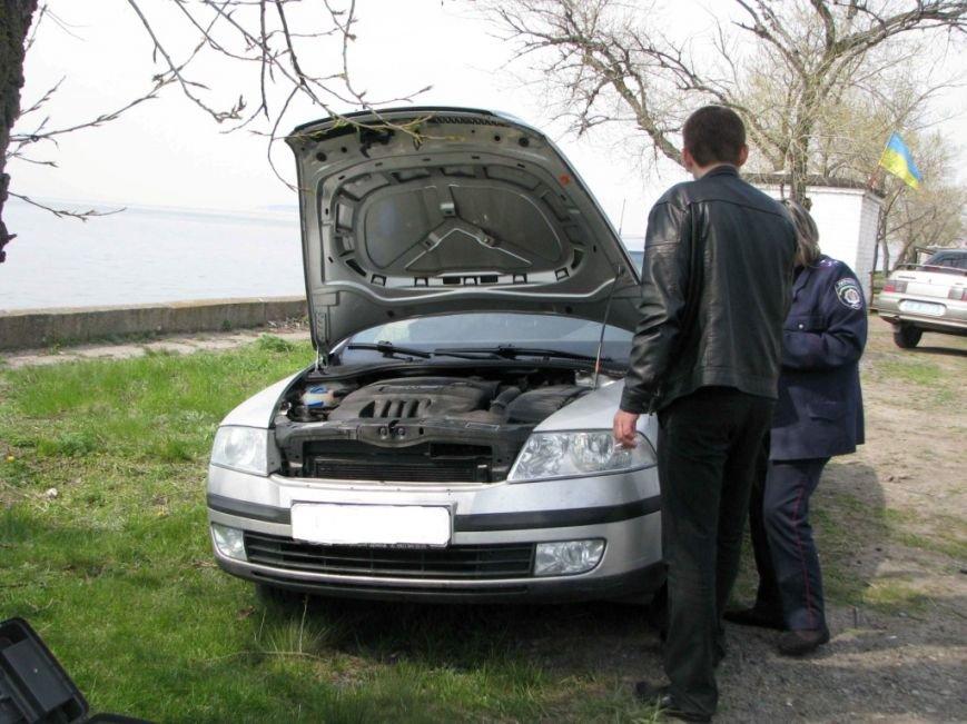 В Кировоградской области гаишники задержали автомобиль, угнанный на востоке государства. ФОТО, фото-2