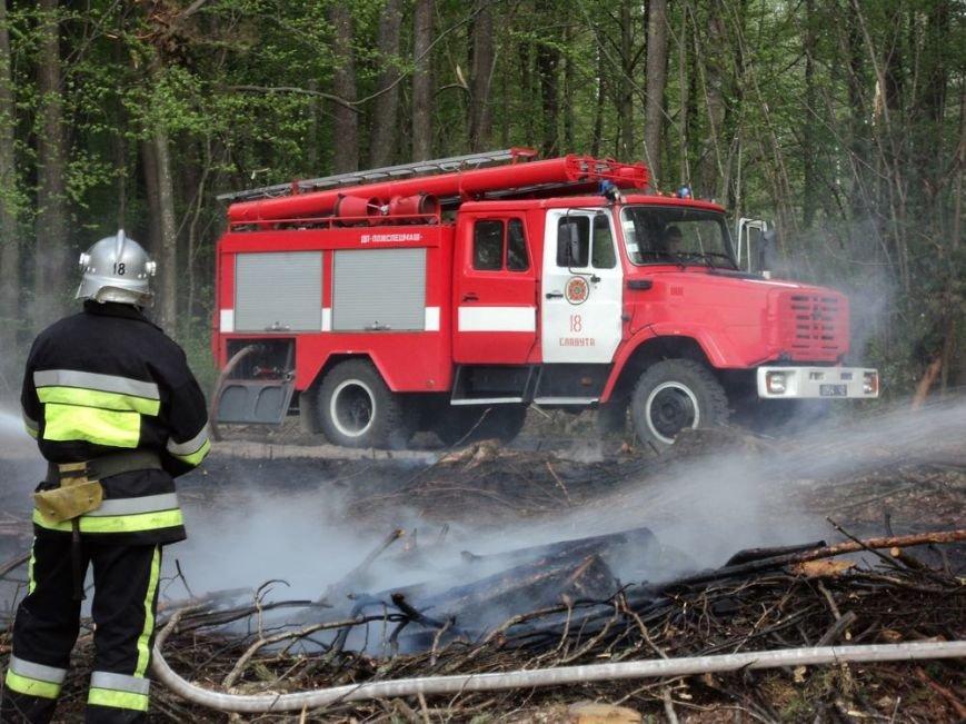 Учбова пожежа ліквідована (ФОТО) (фото) - фото 1