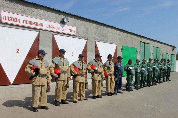 В Олевську відкрили кращу в Україні пожежну лісову станцію (фото) - фото 1