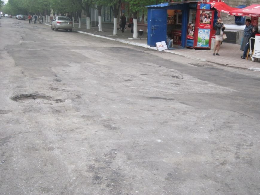 Первые «успехи» ремонта дорог в Славянске (фото) - фото 1
