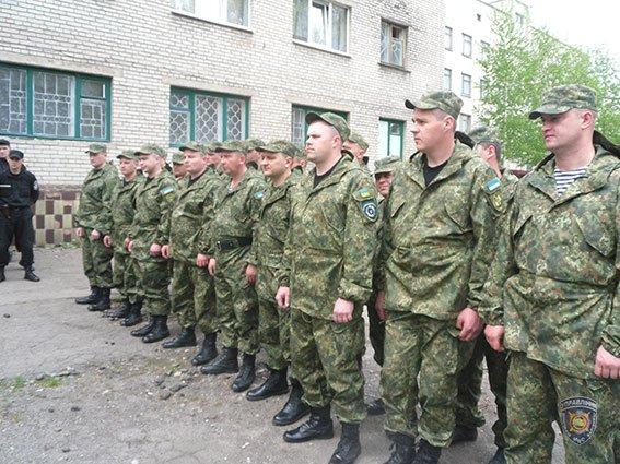 В Славянск прибыли 24 правоохранителя из Киевской области (фото) - фото 1