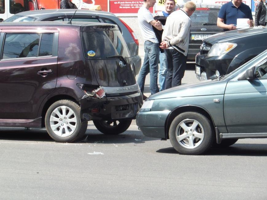 В Кировограде произошло ДТП с участием двух легковушек. ФОТО (фото) - фото 1