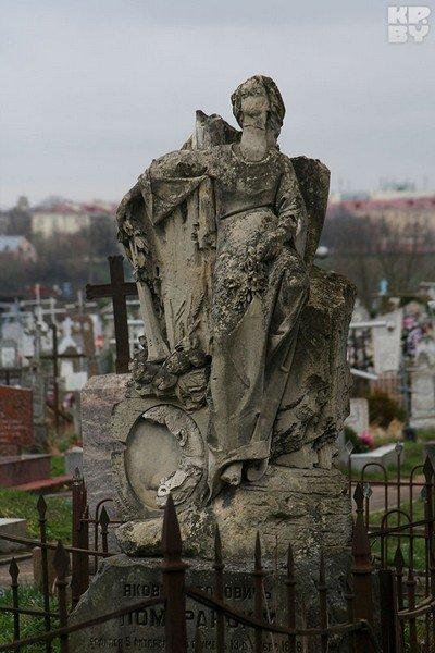 Город мертвых в Гродно: уникальные памятники и собственное приведение (фото) - фото 8