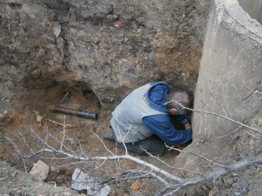Димитровский водоканал совместно с жителями меняет водопроводные сети (Фоторепортаж) (фото) - фото 11