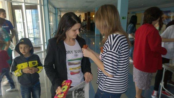 В эти минуты в «Химике» проходит гражданская кампания «Георгиевская лента» (фото) - фото 1