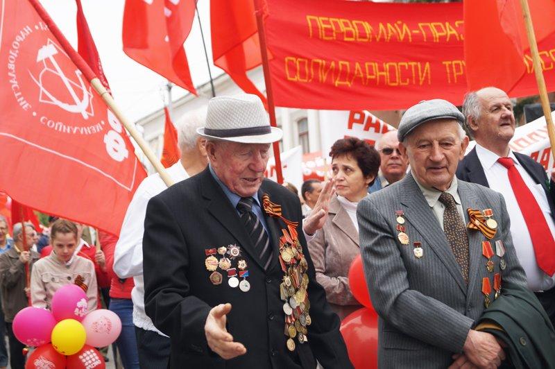 Первомайская демонстрация в Белгороде (фото) - фото 6