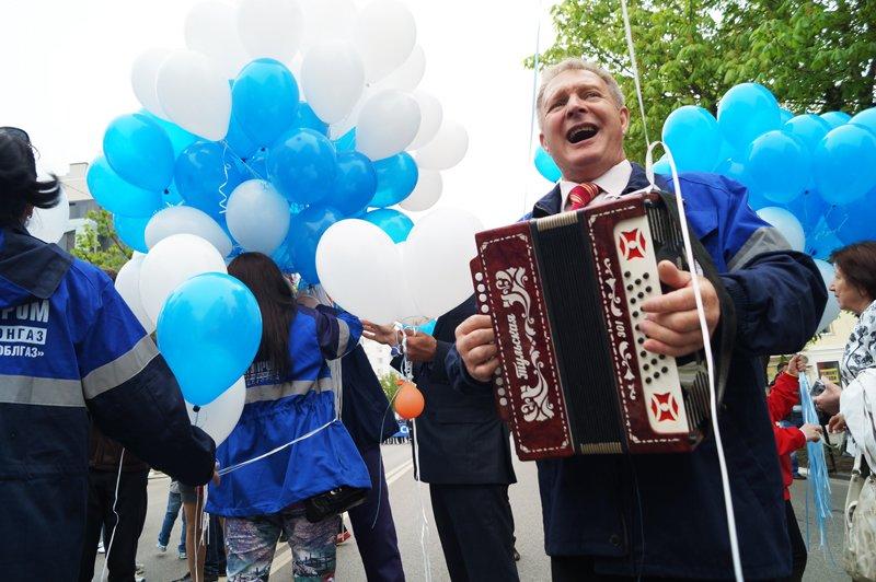 Первомайская демонстрация в Белгороде (фото) - фото 3