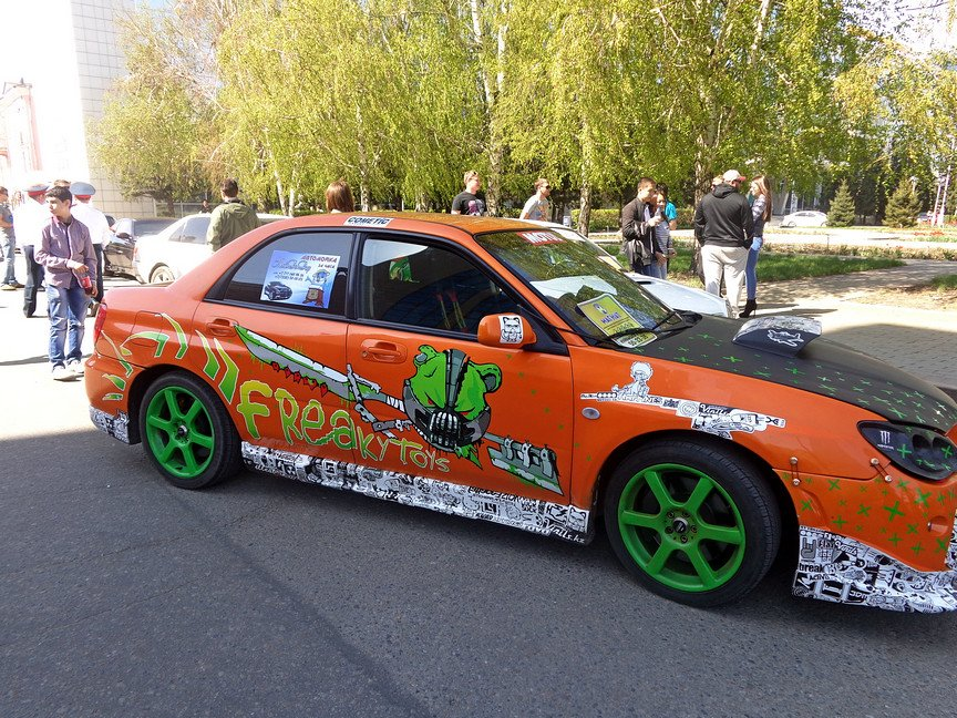 В Усть-Каменогорске состоялось автомобильное шоу, фото-4