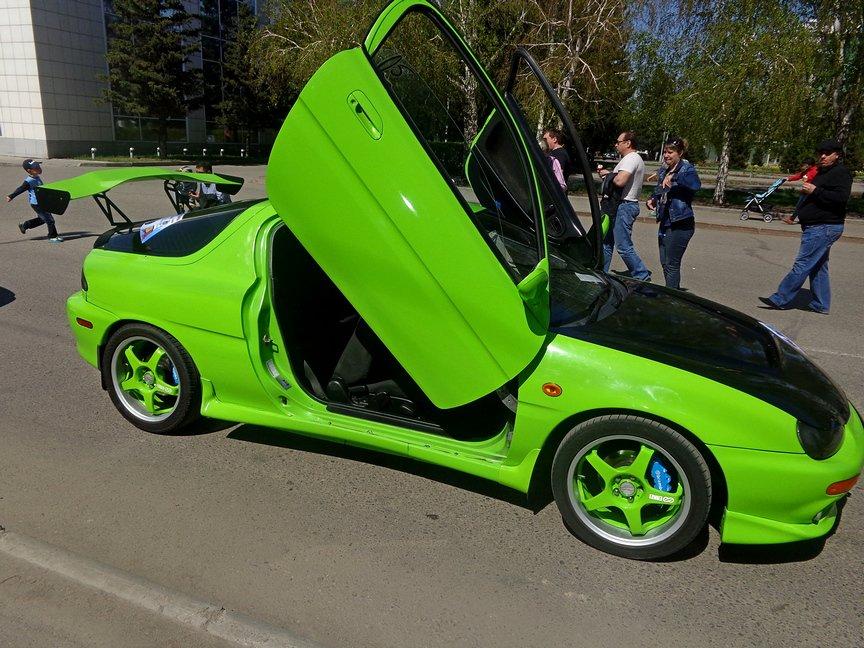 В Усть-Каменогорске состоялось автомобильное шоу, фото-11