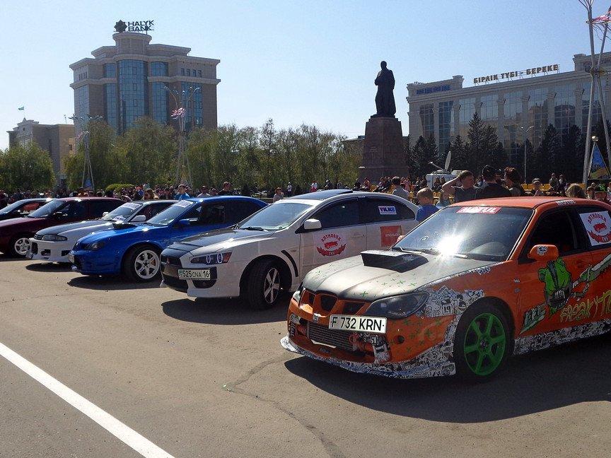 В Усть-Каменогорске состоялось автомобильное шоу, фото-8