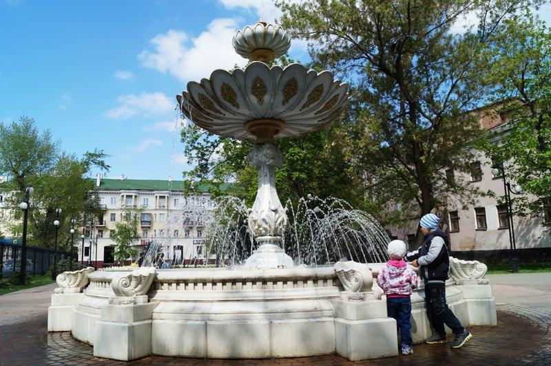 Праздник фонтанов в Белгороде (фото) - фото 1