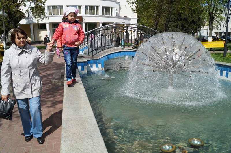 Праздник фонтанов в Белгороде (фото) - фото 4