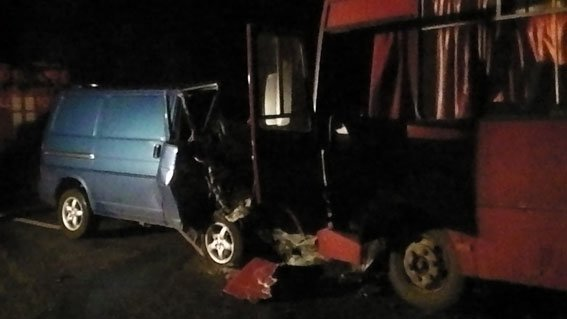 Страшне ДТП на Полтавщині: зіткнулося два автобуси (ФОТО) (фото) - фото 1