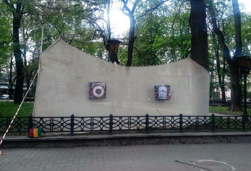 В центрі Івано-Франківська «вбивають» Путіна (ФОТО), фото-2