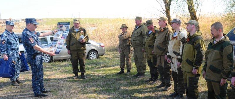 Волгоградские полицейские провели урок истории воспитанникам «Истока», фото-2