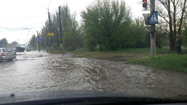 Потоп в Краматорске после ливня (фото) - фото 6
