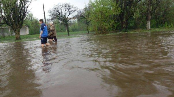 Потоп в Краматорске после ливня (фото) - фото 5