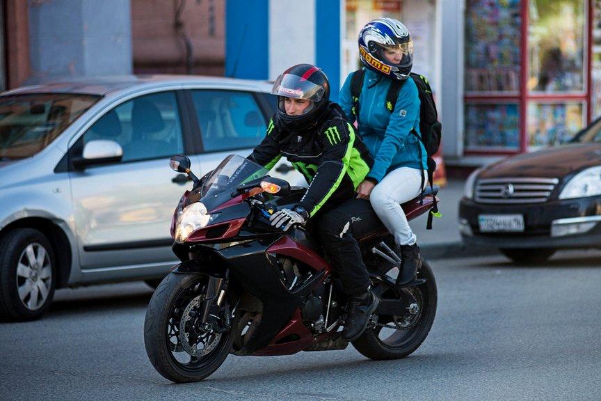 Усть-каменогорские байкеры на ежегодной акции «Внимание – мотоциклист!»