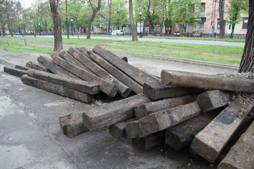 В центре Днепропетровска ремонтируют трамвайные пути (ФОТО), фото-3