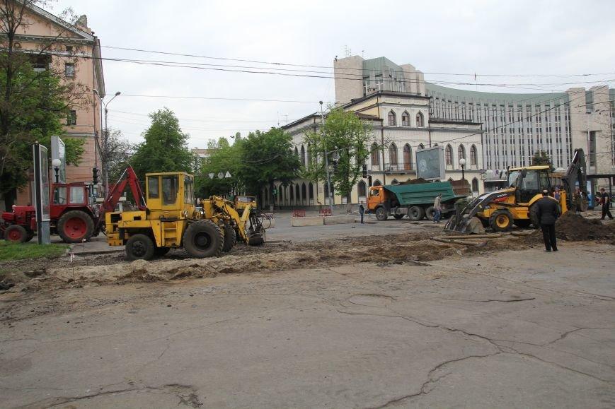 В центре Днепропетровска ремонтируют трамвайные пути (ФОТО), фото-5