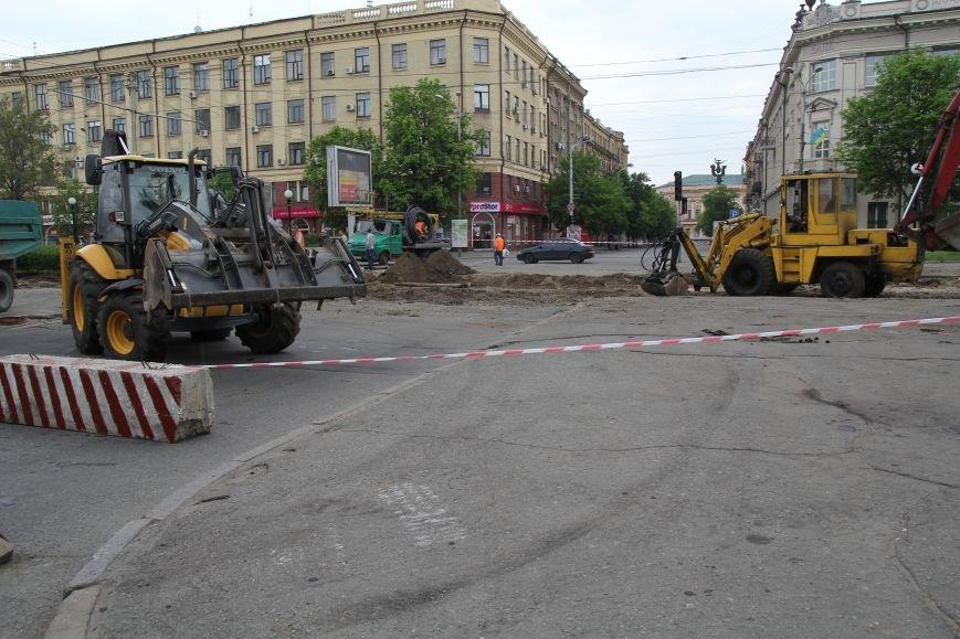 В центре Днепропетровска ремонтируют трамвайные пути (ФОТО), фото-1