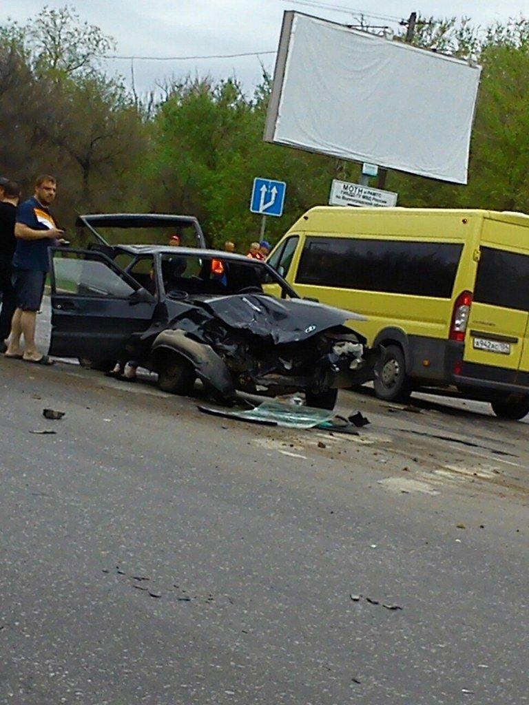 В Кировском районе четыре машины протаранили друг друга, фото-1