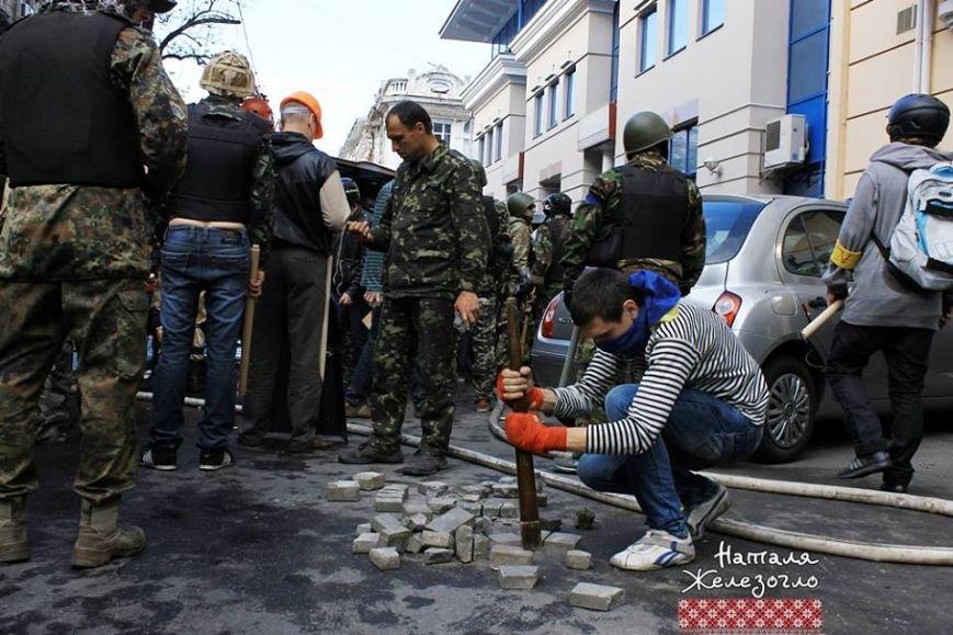 Фотохроника: одесситы вспоминают майскую битву за Одессу (фото) - фото 1