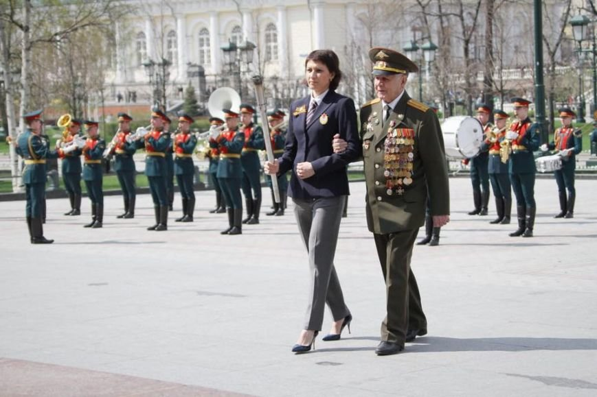 Татьяна Лебедева доставит частицу Вечного огня в Волгоград, фото-1