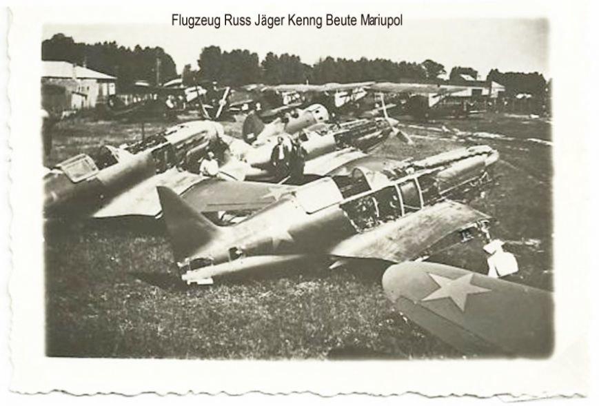 Orig Foto Flugzeug Russ Jäger Kenng Beute Mariupol [Desktop Resolution]