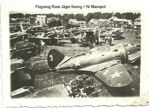 Foto Flugzeug Russ Jäger Kenng  Nr Mariupol