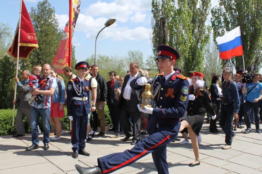 В Волгограде вновь зажжен Вечный огонь, фото-3