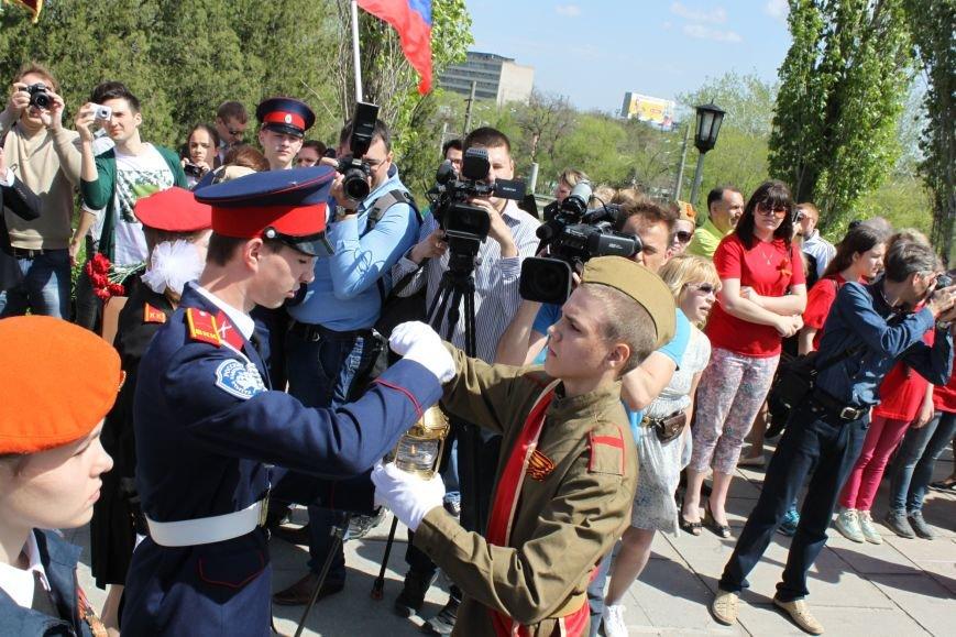 В Волгограде вновь зажжен Вечный огонь, фото-2