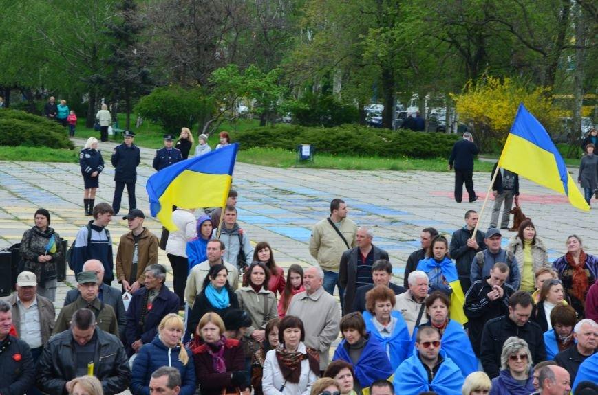 Мариупольцы вышли на митинг против демилитаризации Широкино (ДОПОЛНЕНО+ФОТО), фото-33