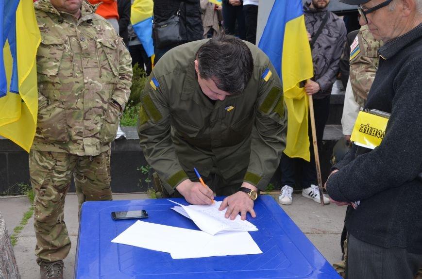 Мариупольцы вышли на митинг против демилитаризации Широкино (ДОПОЛНЕНО+ФОТО), фото-71