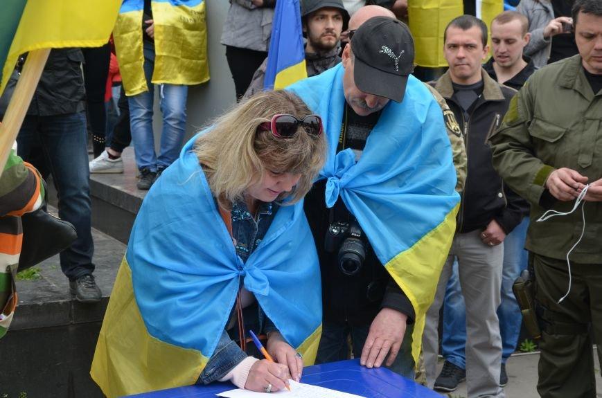 Мариупольцы вышли на митинг против демилитаризации Широкино (ДОПОЛНЕНО+ФОТО), фото-70