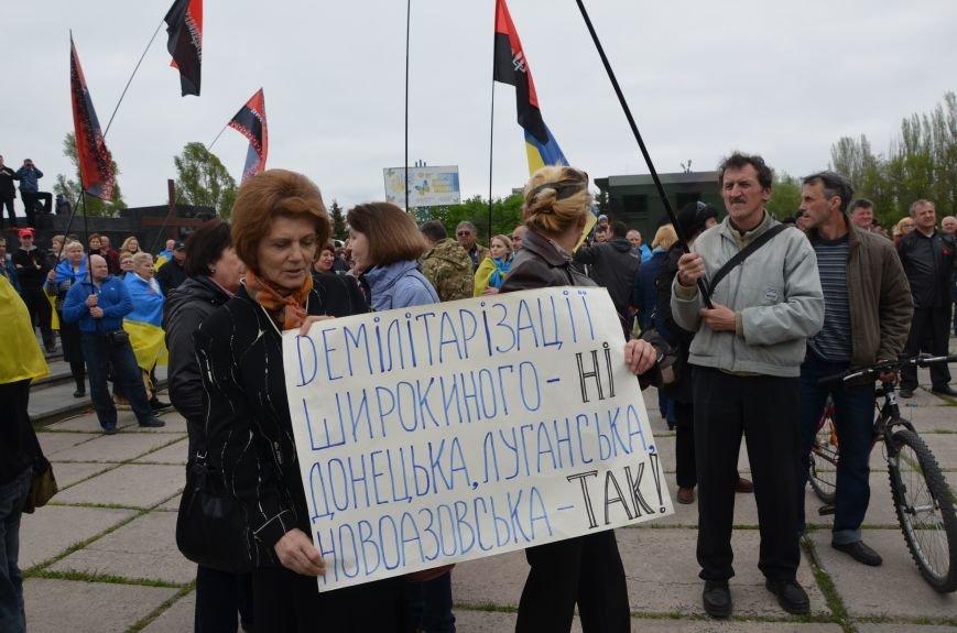 Мариупольцы вышли на митинг против демилитаризации Широкино (ДОПОЛНЕНО+ФОТО), фото-7