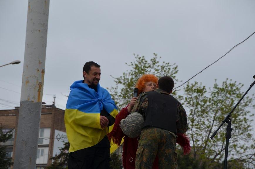 Мариупольцы вышли на митинг против демилитаризации Широкино (ДОПОЛНЕНО+ФОТО), фото-80