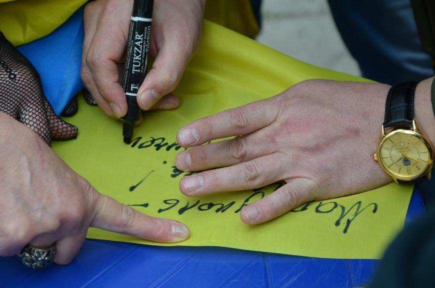 Мариупольцы вышли на митинг против демилитаризации Широкино (ДОПОЛНЕНО+ФОТО), фото-74