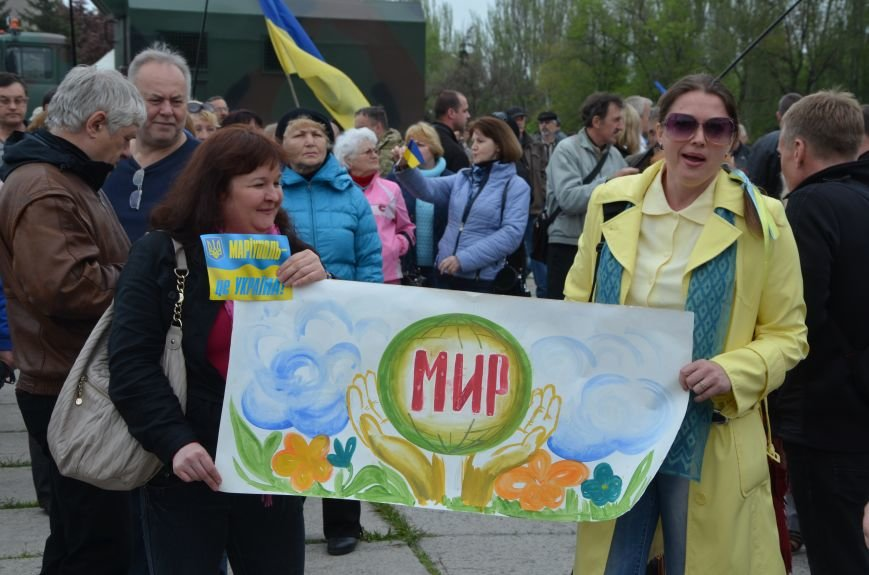Мариупольцы вышли на митинг против демилитаризации Широкино (ДОПОЛНЕНО+ФОТО), фото-3