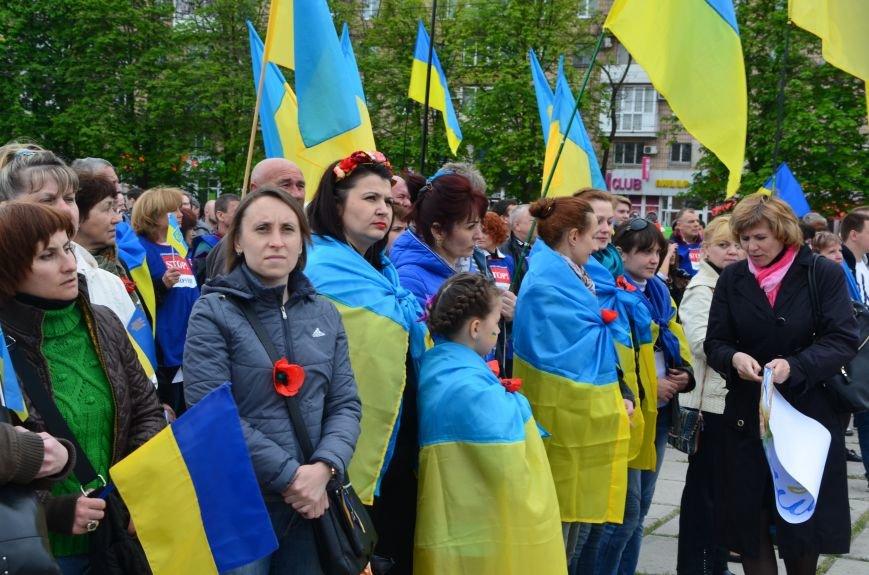 Мариупольцы вышли на митинг против демилитаризации Широкино (ДОПОЛНЕНО+ФОТО), фото-16