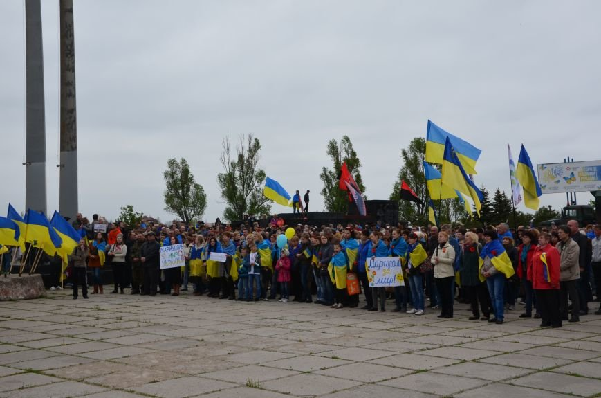Мариупольцы вышли на митинг против демилитаризации Широкино (ДОПОЛНЕНО+ФОТО), фото-57