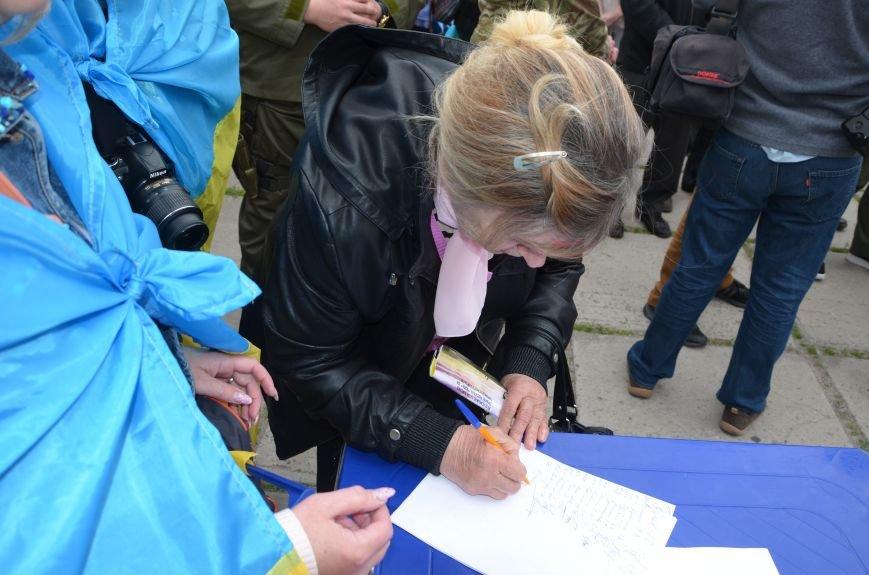 Мариупольцы вышли на митинг против демилитаризации Широкино (ДОПОЛНЕНО+ФОТО), фото-69