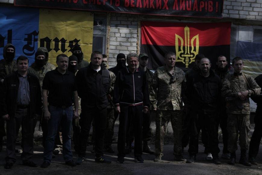 Маркевич побывал в учебно-тренировочном лагере «Азова» (ФОТО) (фото) - фото 1