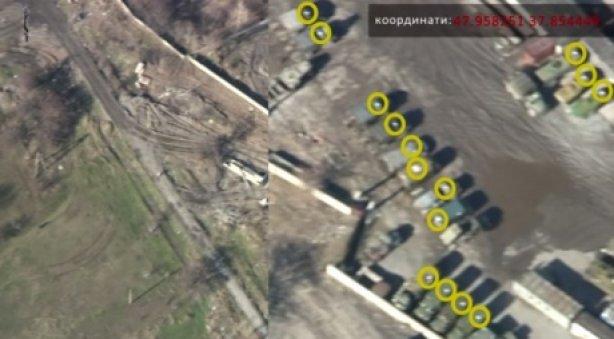 Бойцы батальона «Днепр-1» обнаружили вблизи школ военную технику боевиков (ВИДЕО, ФОТО) (фото) - фото 1