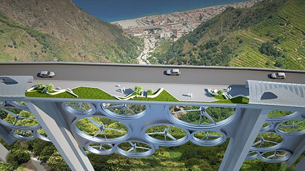 Мост, генерирующий солнечную и ветровую энергию, хорошо бы смотрелся на Херсонских просторах (фото) - фото 1
