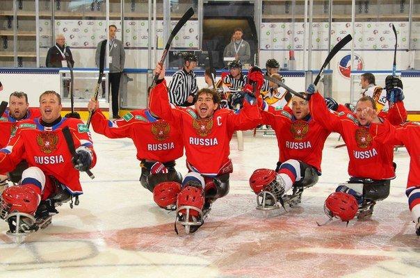 Сборная России по следж-хоккею бронзовый призёр Чемпионата мира 2015 (фото) - фото 1