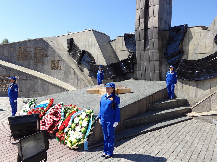 В Усть-Каменогорске стартовала Вахта памяти у вечного огня, фото-3