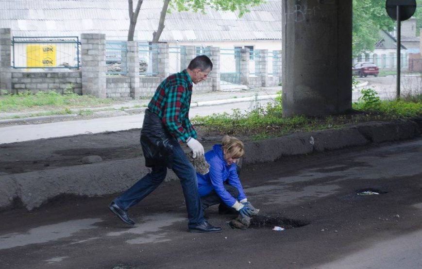 В Краматорске прошел воскресник единения, фото-3