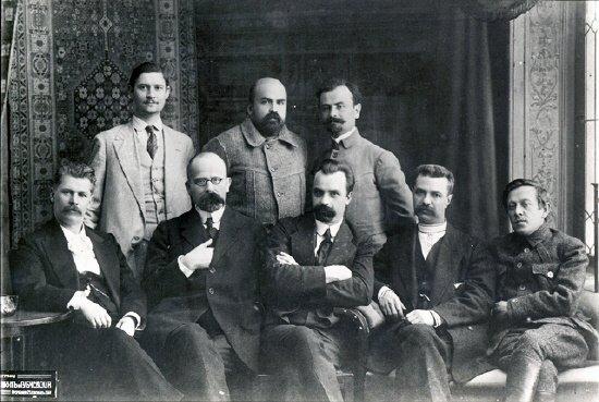 Генеральный Секретариат Центральной Рады 1917, Стасюк второй во втором ряду